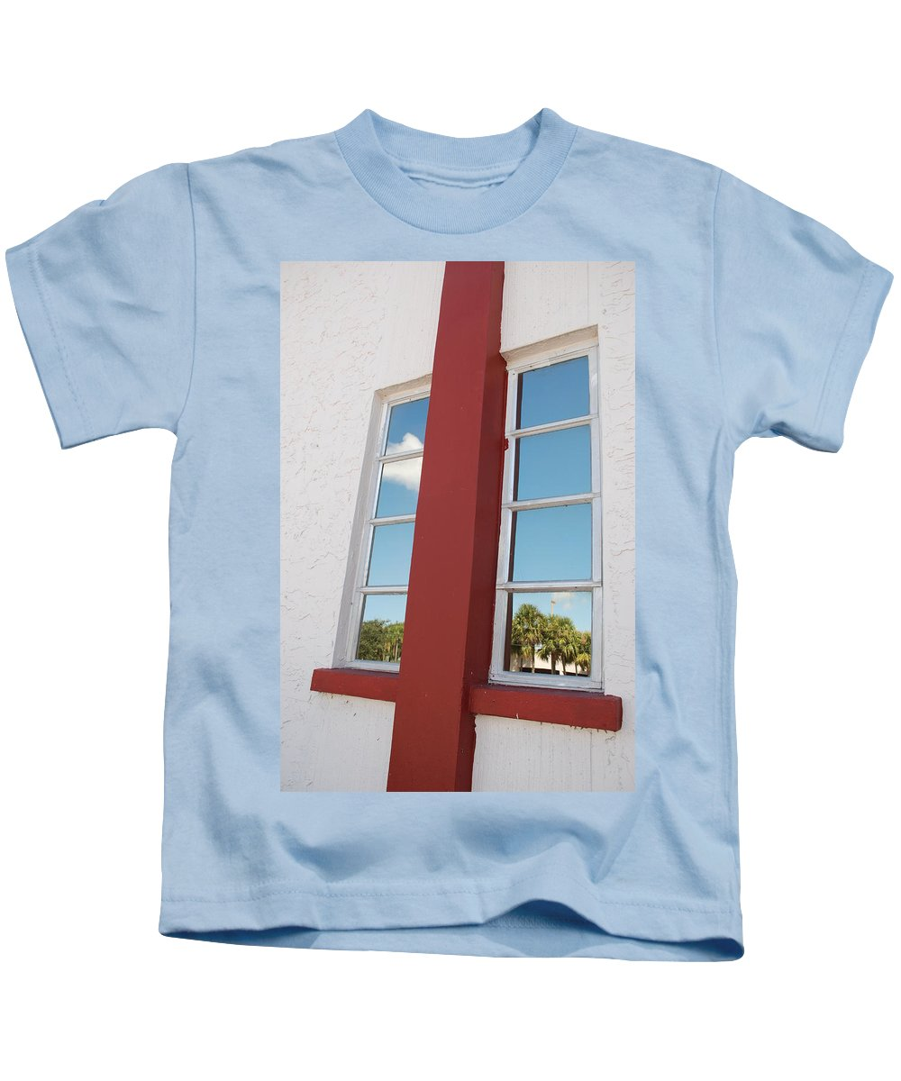 Sky Kids T-Shirt featuring the photograph Window T Glass by Rob Hans