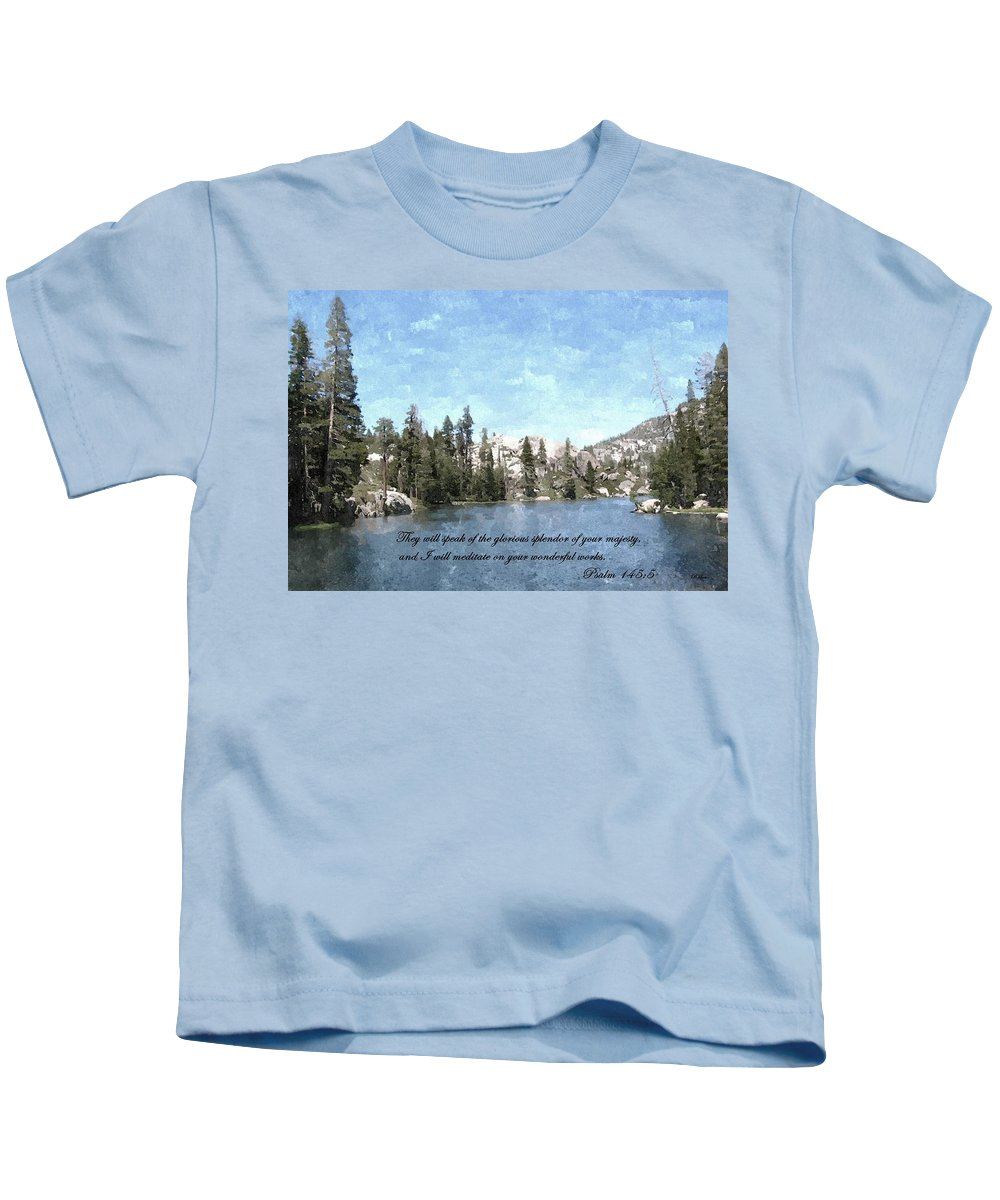 Scripture Kids T-Shirt featuring the photograph Inspirations 1 by Sara Raber