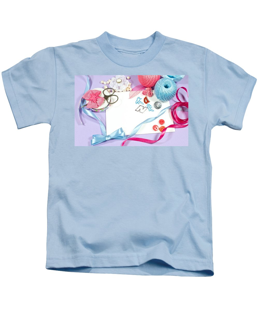 Still Life Kids T-Shirt featuring the digital art Still Life by Dorothy Binder