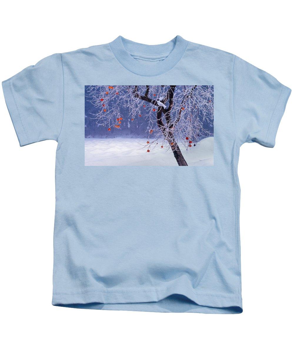 Tree Kids T-Shirt featuring the digital art Tree by Dorothy Binder