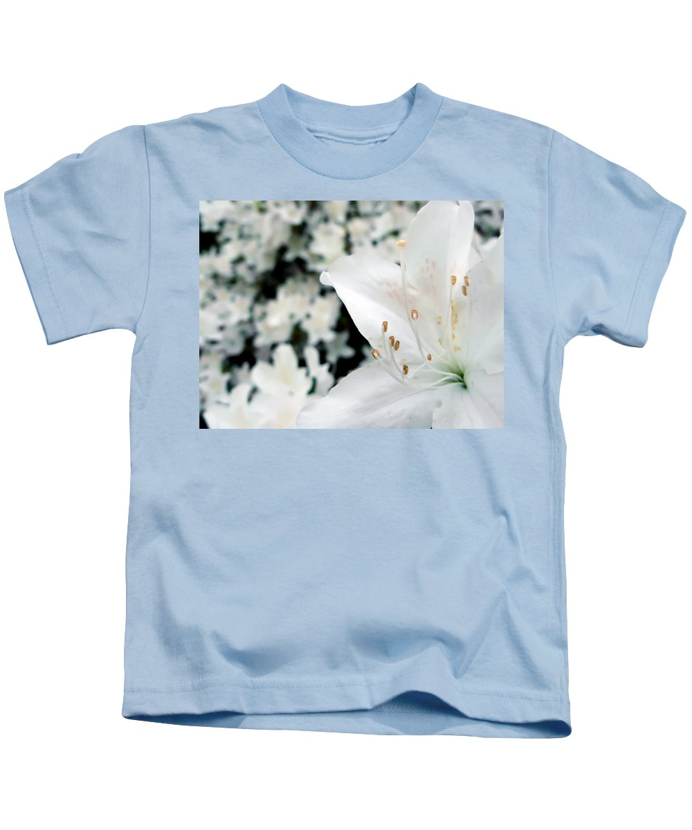 Azalea Kids T-Shirt featuring the photograph Azalea by Daniel Csoka