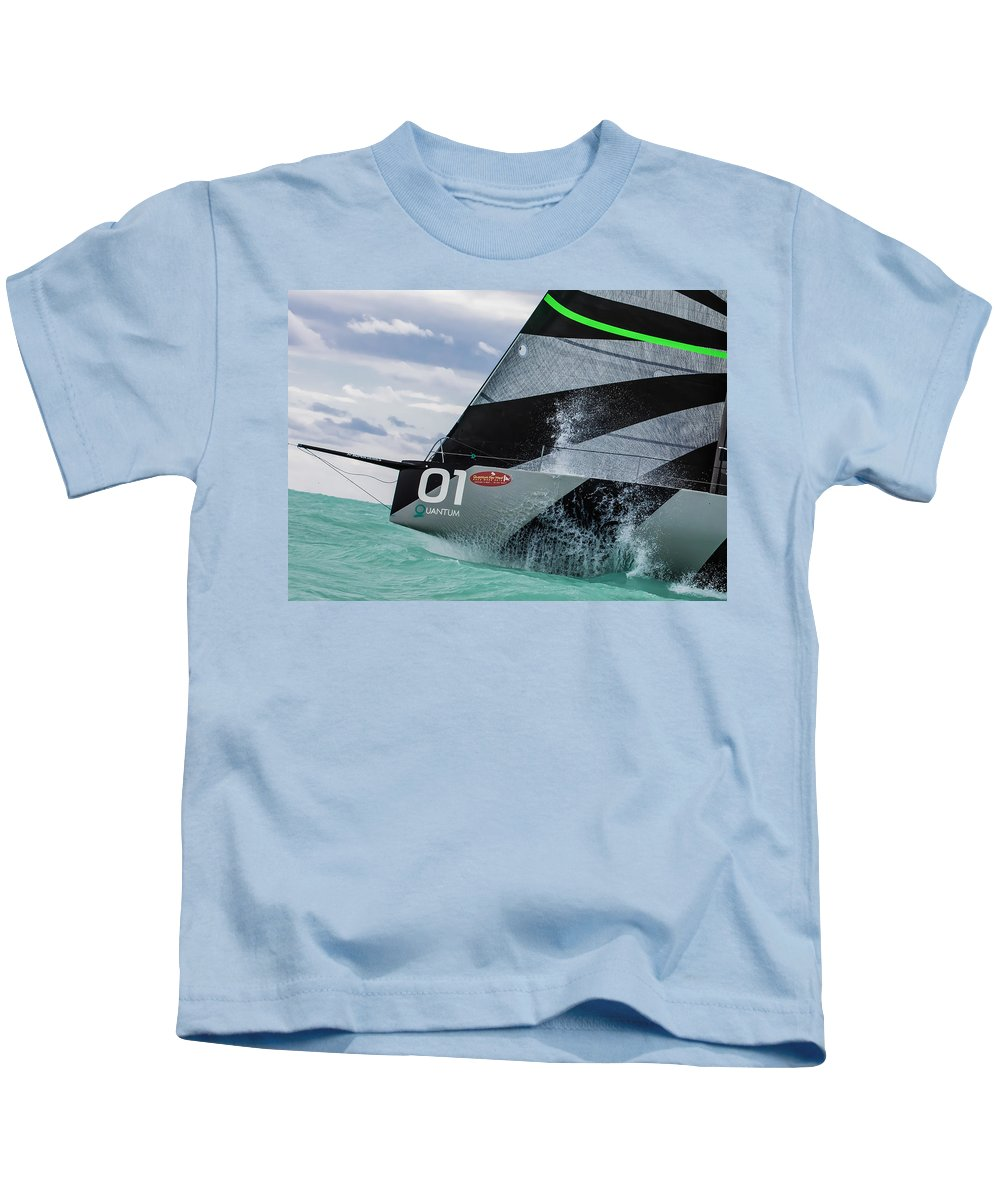 Key Kids T-Shirt featuring the photograph Watercolors by Steven Lapkin