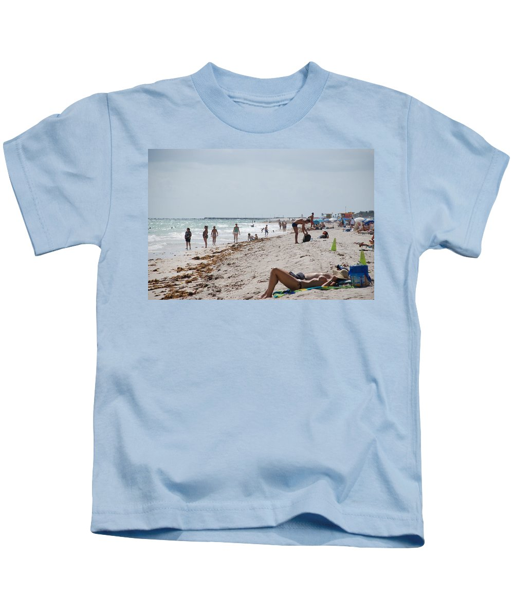 Nude Kids T-Shirt featuring the photograph A Day At Paradise Beach by Rob Hans