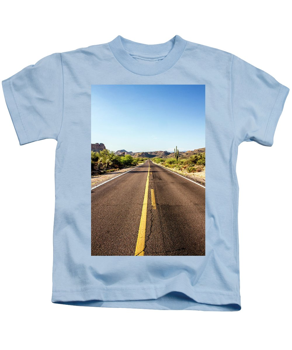 Arizona Kids T-Shirt featuring the photograph A Journey Through Arizona by Kevin Deal
