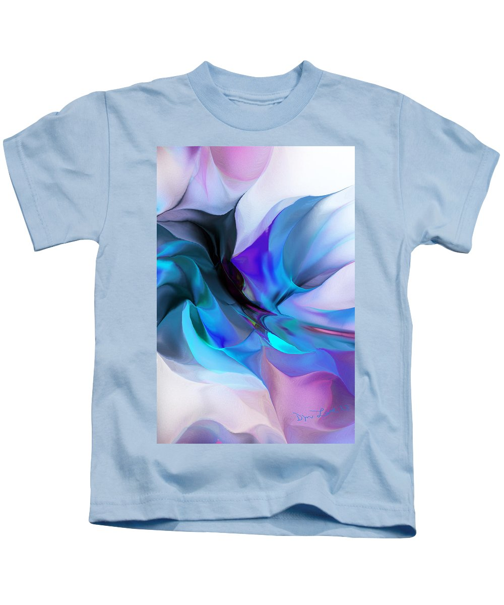 Fine Art Kids T-Shirt featuring the digital art Abstract 012513 by David Lane