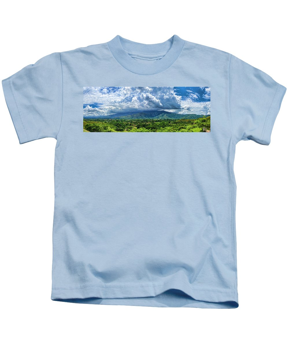 Valley Kids T-Shirt featuring the photograph Aguirre Valley by Galeria Trompiz