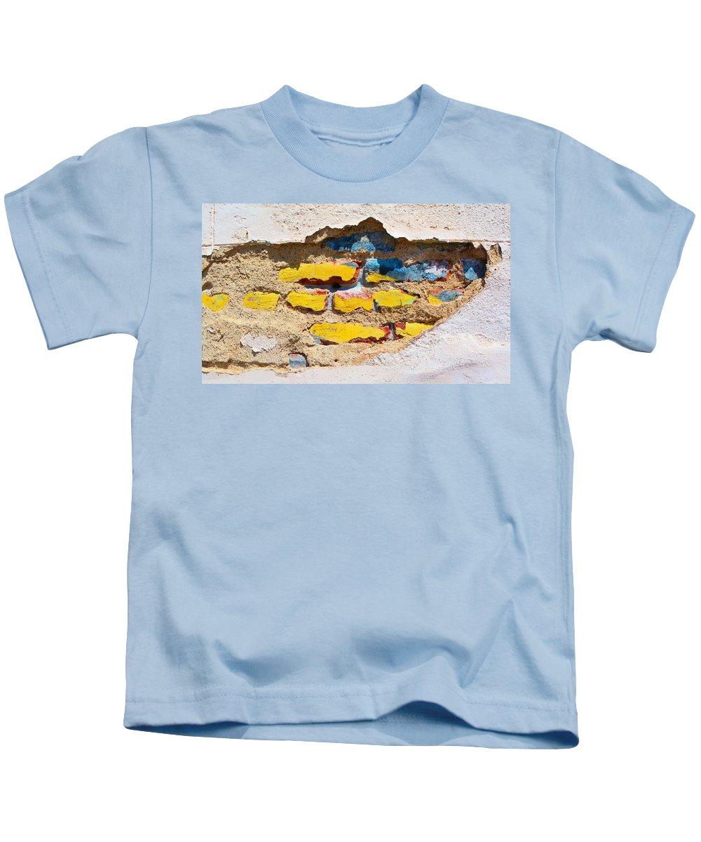 Bricks Kids T-Shirt featuring the photograph Ah Daylight by Josephine Buschman