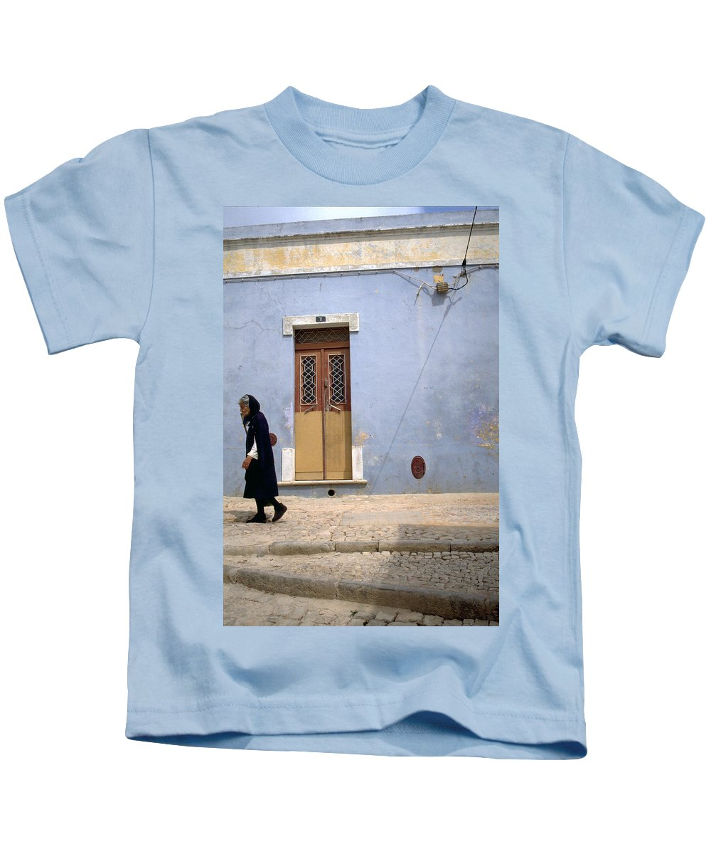 Algarve Kids T-Shirt featuring the photograph Algarve II by Flavia Westerwelle
