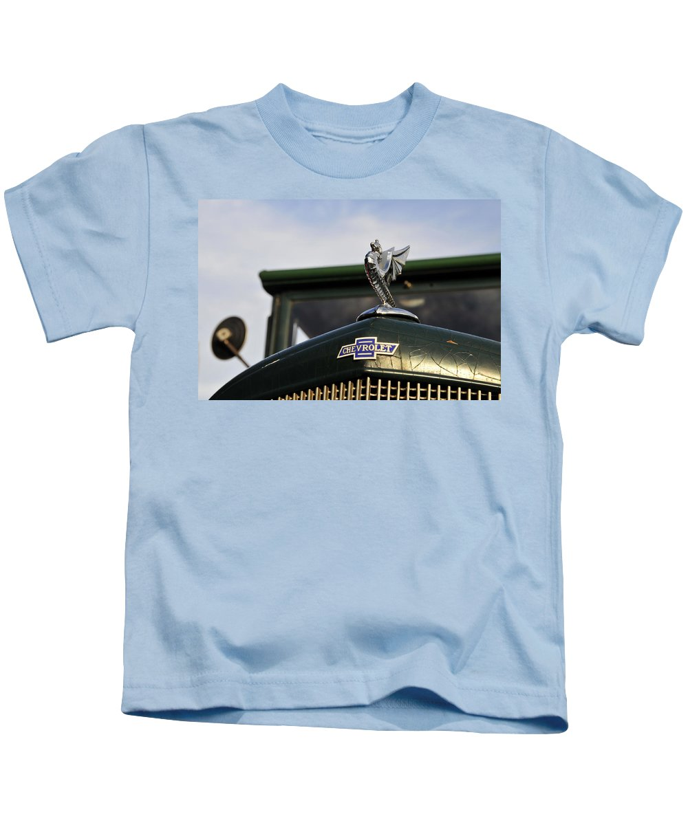 Hood Kids T-Shirt featuring the photograph American Pride by David Lee Thompson