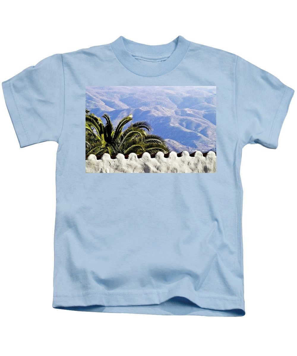Andalusia Kids T-Shirt featuring the photograph Andalusian View by Heiko Koehrer-Wagner