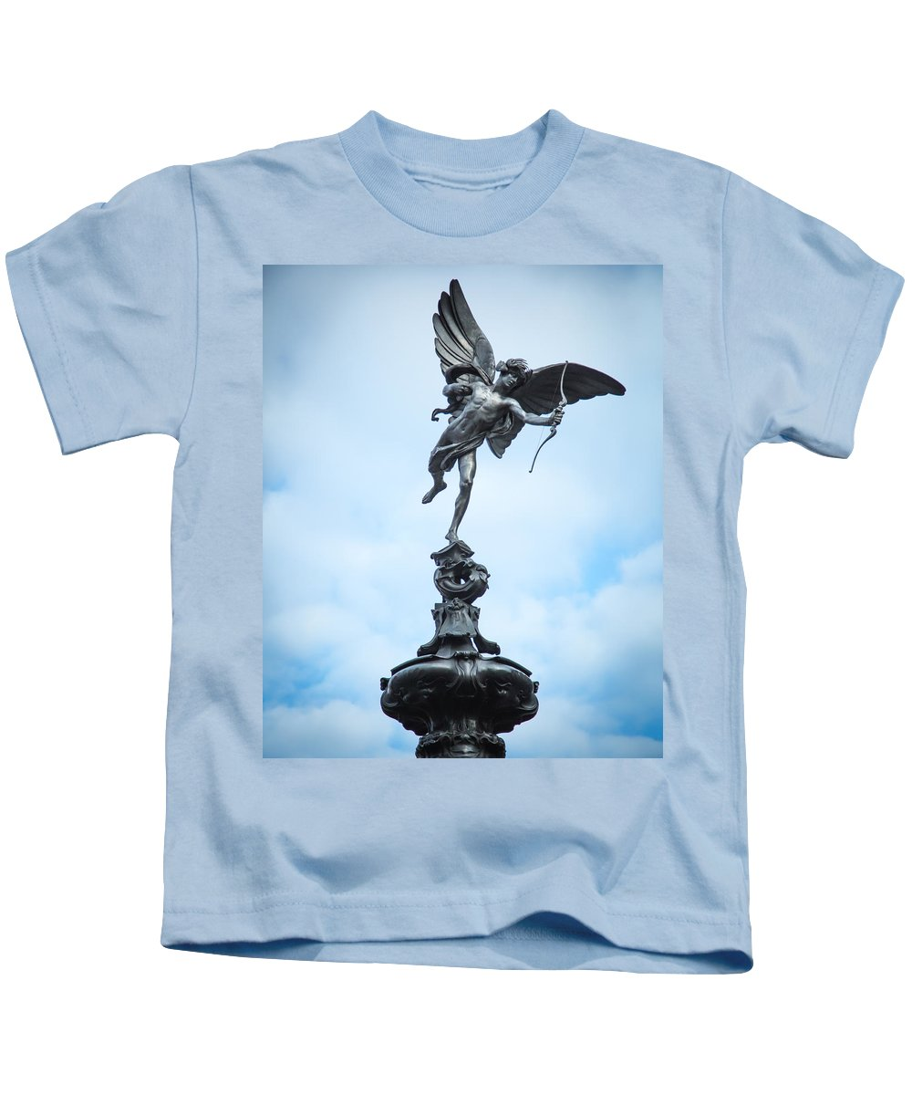 Kids T-Shirt featuring the photograph Anteros by Jared Windler