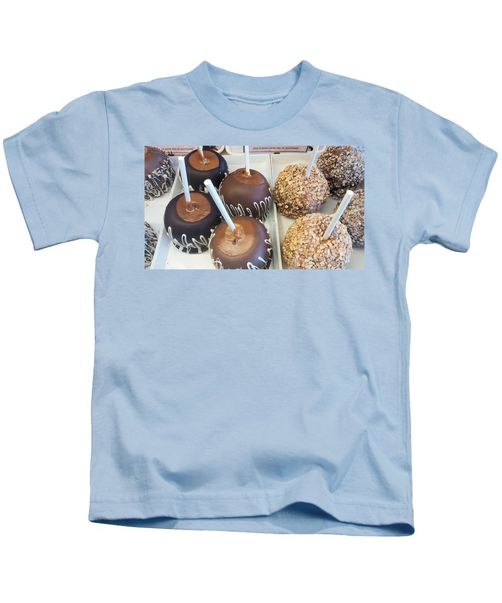 Apples Kids T-Shirt featuring the photograph Apple Sweets by Robert Banach