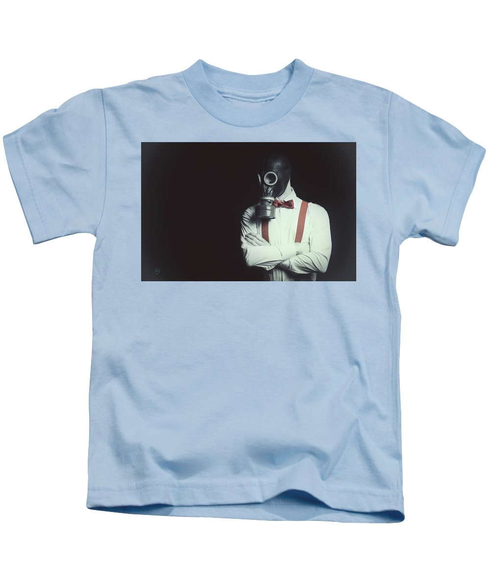 Armageddon Kids T-Shirt featuring the photograph Armageddon Portrait by Sergio Nevado