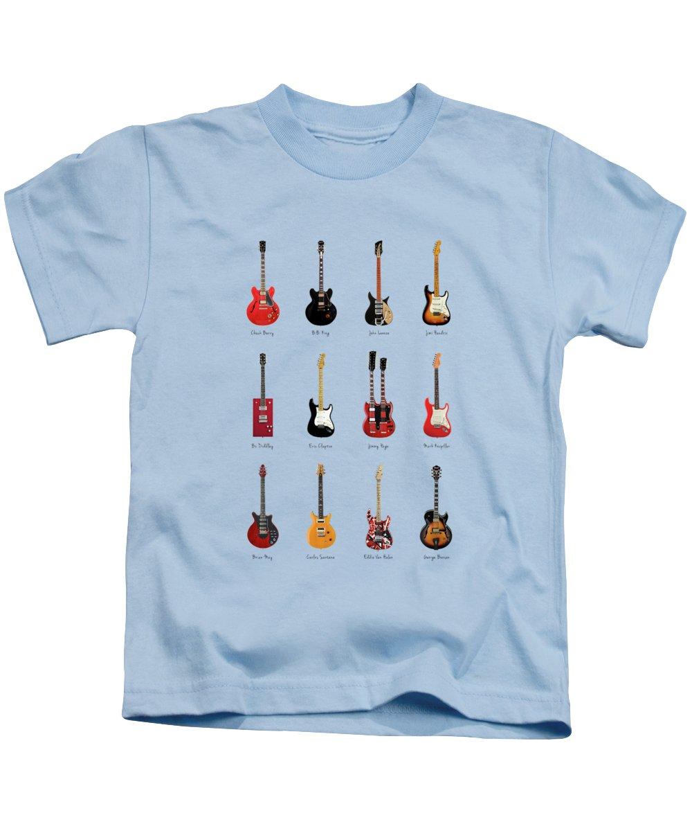 Eric Clapton Kids T-Shirts