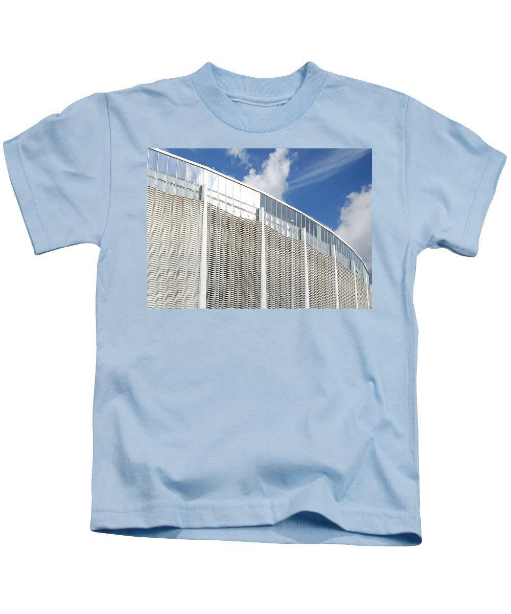 Wright Fine Art Kids T-Shirt featuring the photograph Astrodome by Paulette B Wright