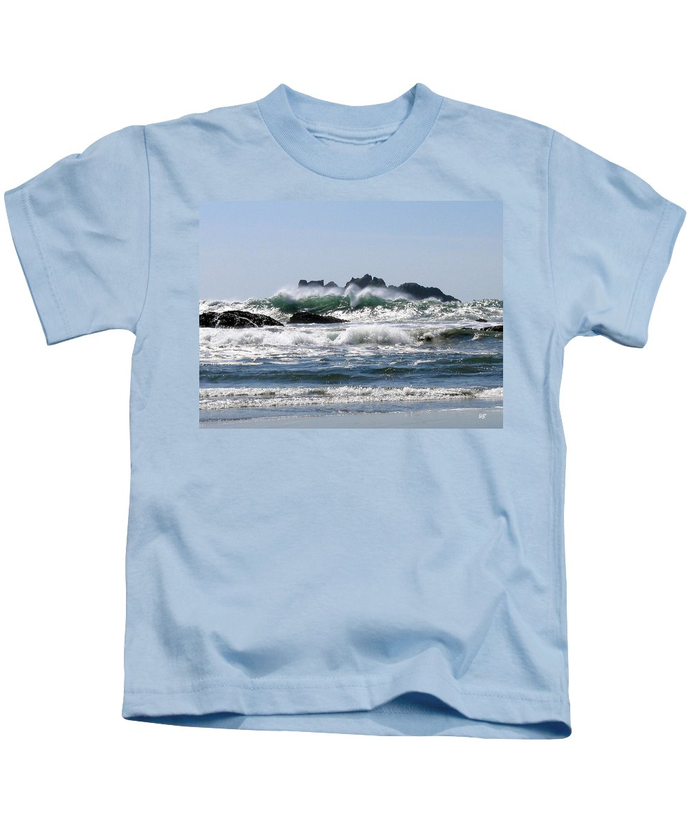 Bandon Kids T-Shirt featuring the photograph Bandon 20 by Will Borden