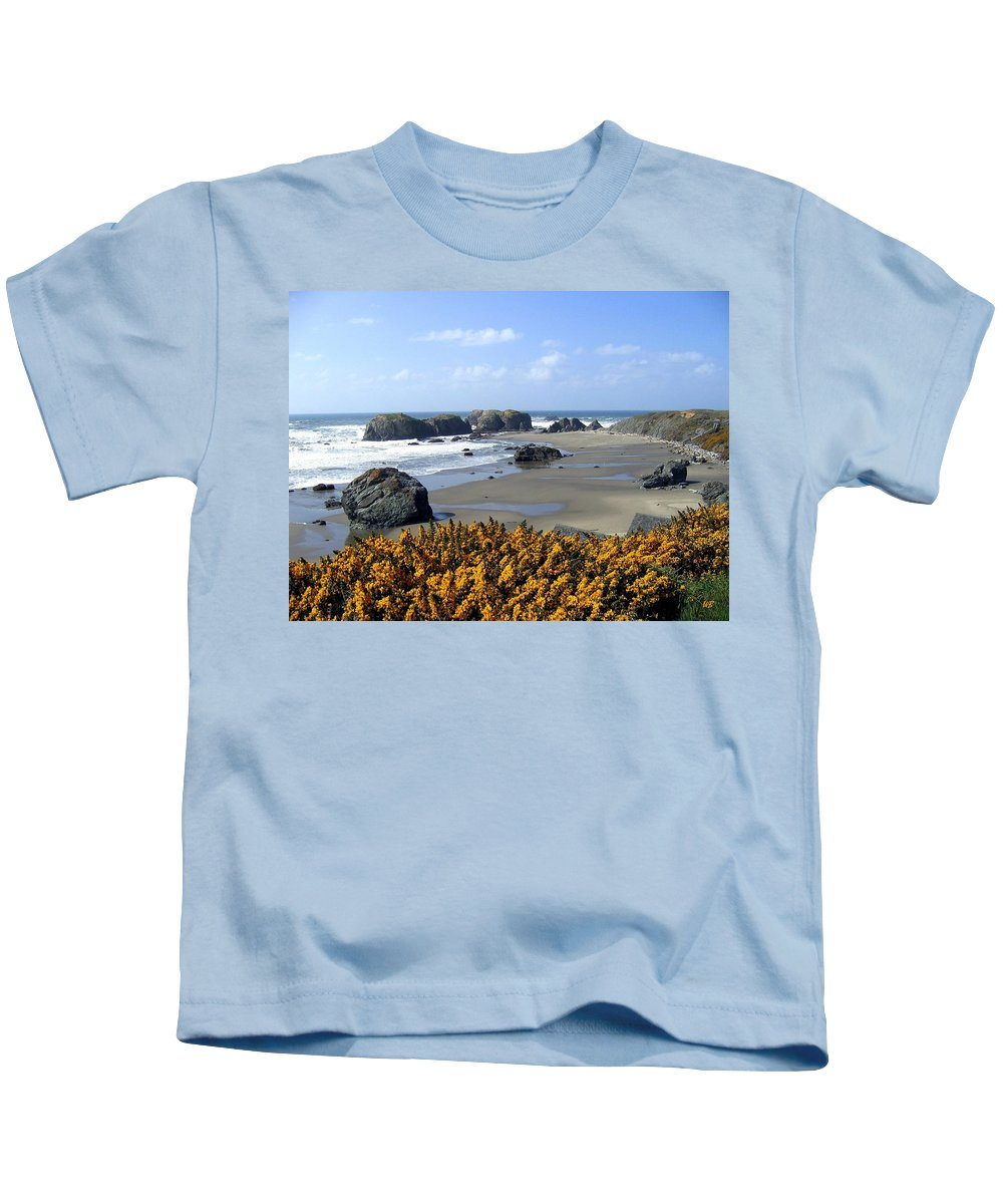 Bandon Kids T-Shirt featuring the photograph Bandon 4 by Will Borden