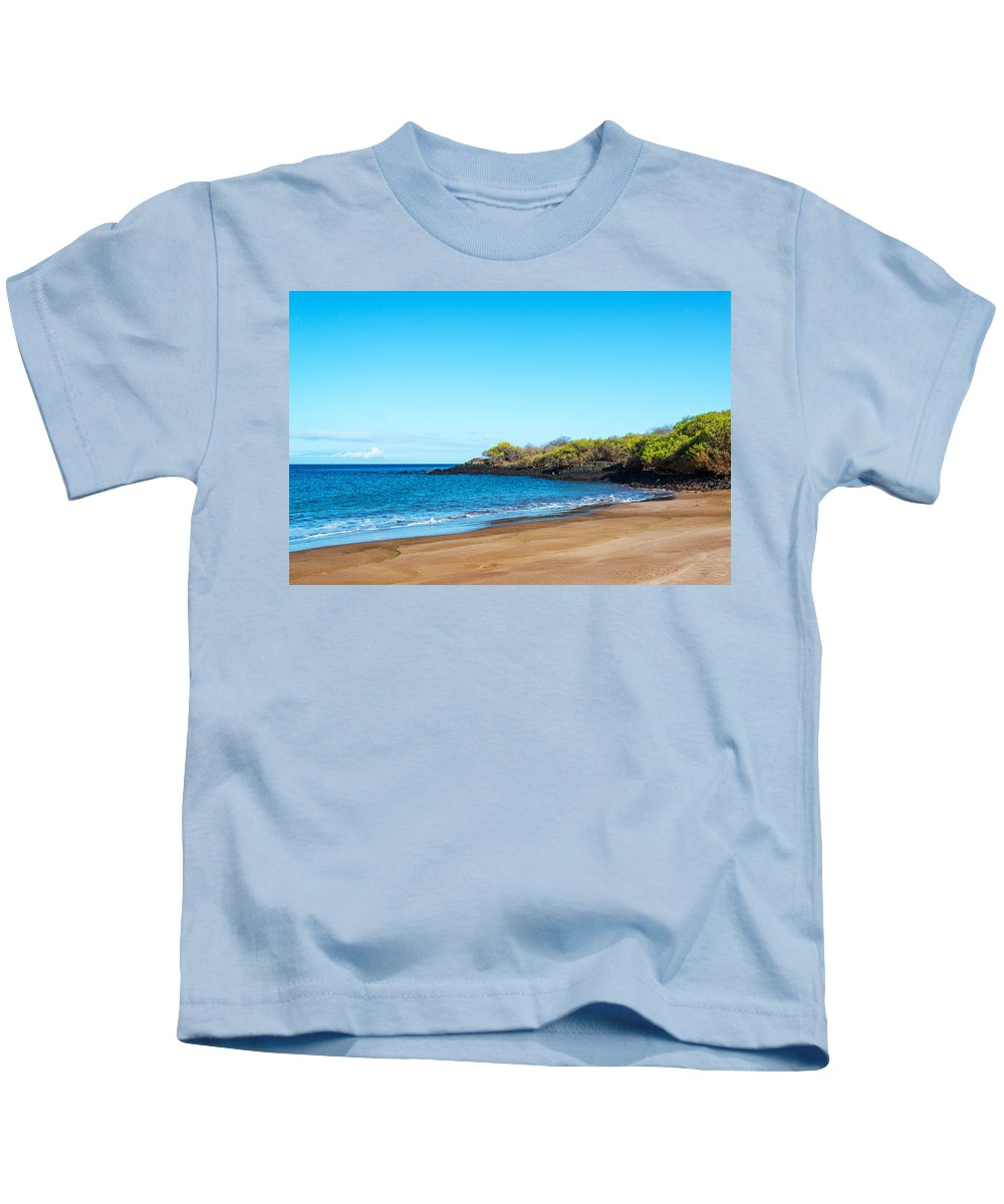 Galapagos Islands Kids T-Shirt featuring the photograph Beach In The Galapagos by Jess Kraft
