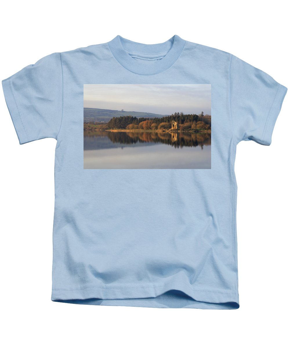 Lake Kids T-Shirt featuring the photograph Blessington Lakes by Phil Crean