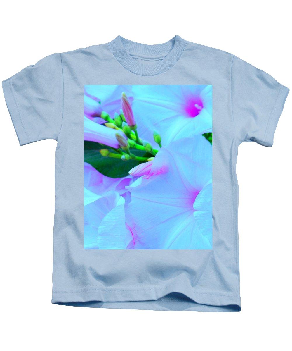 Blue Kids T-Shirt featuring the photograph Blue Beauty by Ian MacDonald