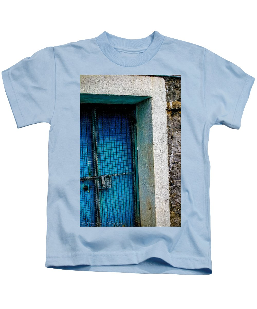 Galway Kids T-Shirt featuring the photograph Blue by Misty Tienken