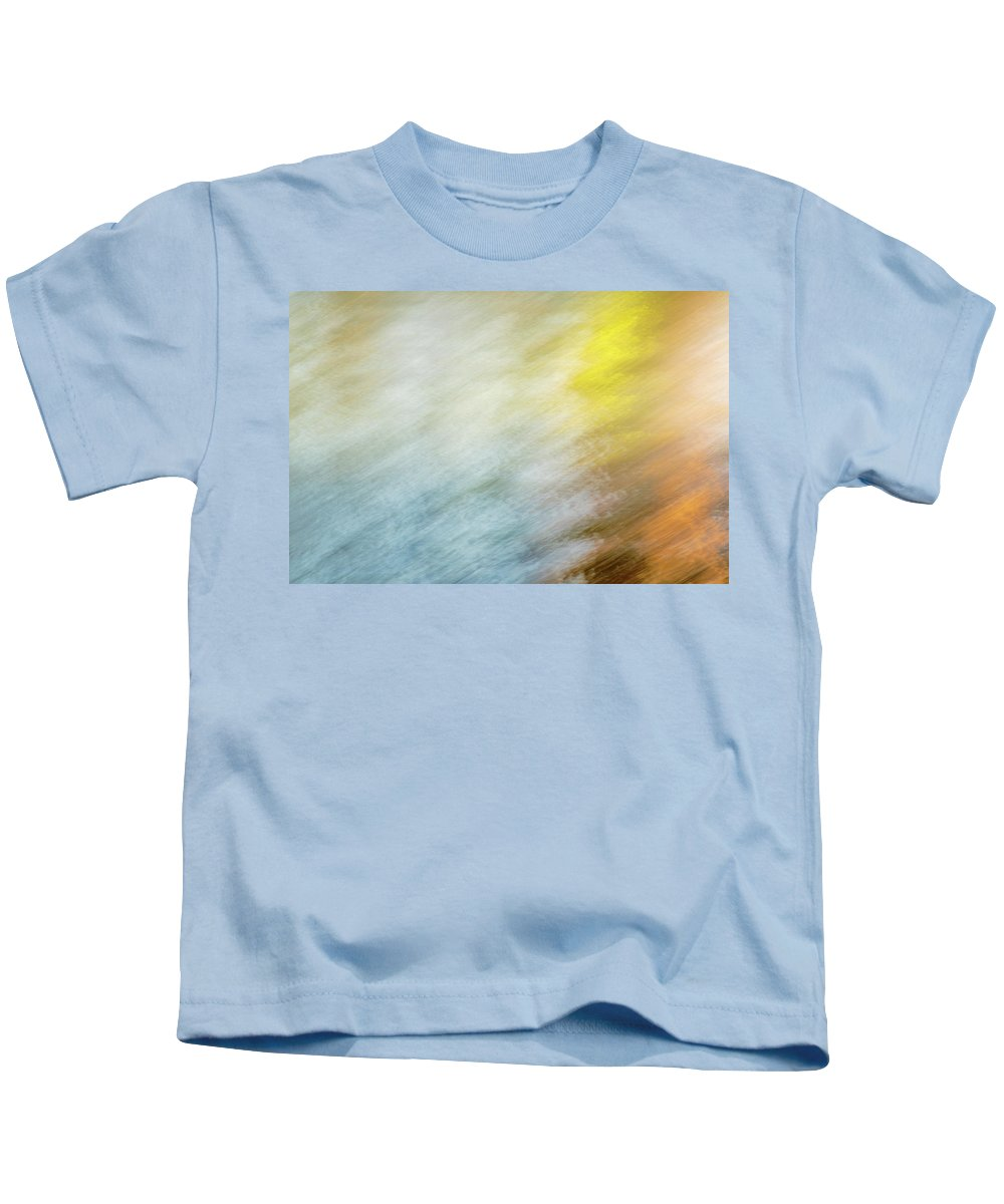 Abstract Kids T-Shirt featuring the photograph Blurred #9 by Michael Niessen