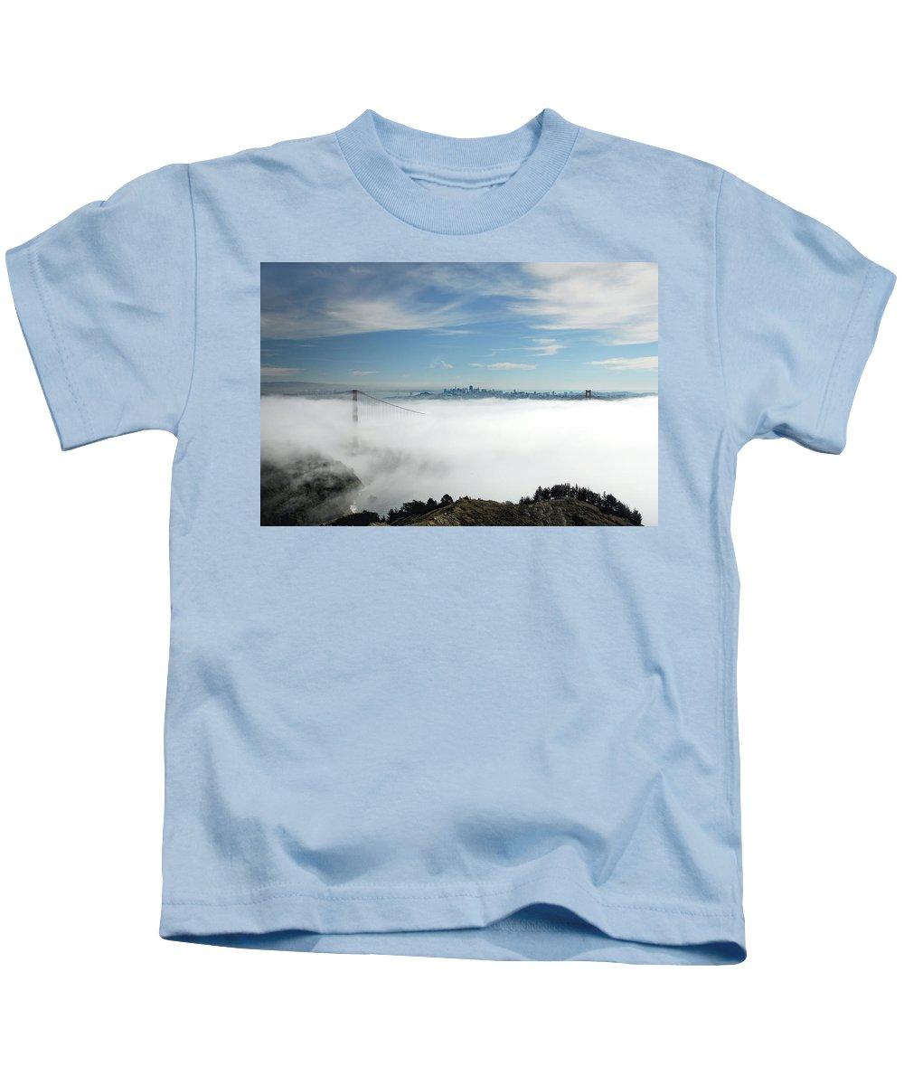 San Francisco Kids T-Shirt featuring the photograph Brigadoon by Donna Blackhall