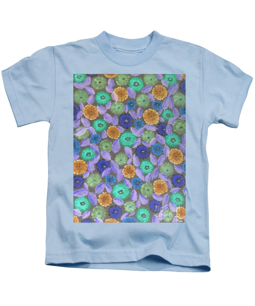Bright Kids T-Shirt featuring the photograph Bright Flowers by Darrin Ingram