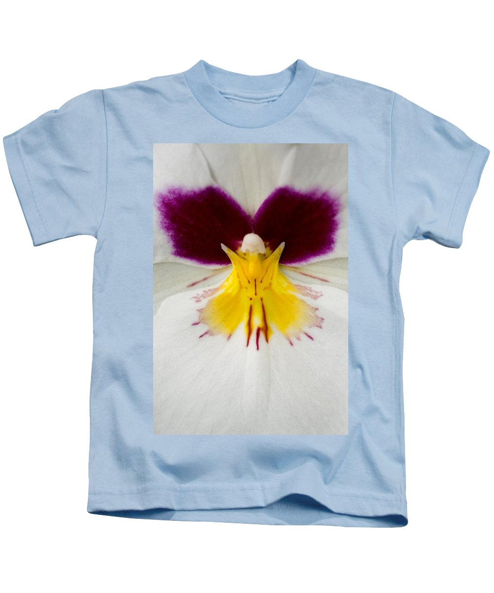 Orchid Kids T-Shirt featuring the photograph Butterfly by Karen Ulvestad
