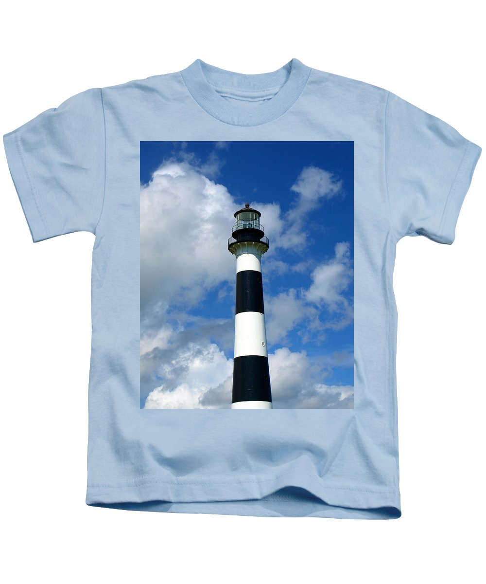 Kids T-Shirt featuring the photograph Canveral Light by Allan Hughes