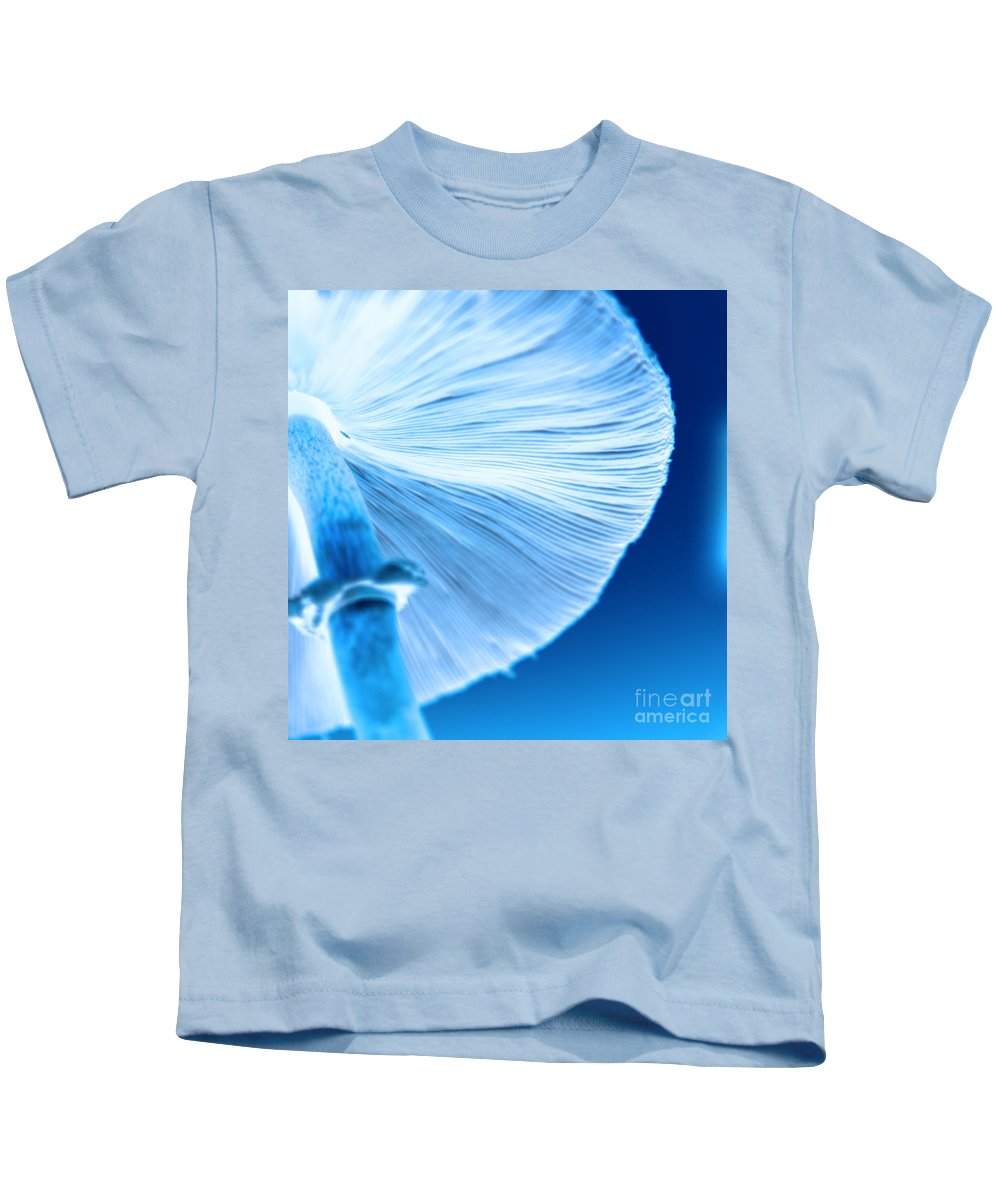 Mushrooms Kids T-Shirt featuring the photograph Captastic by Amanda Barcon