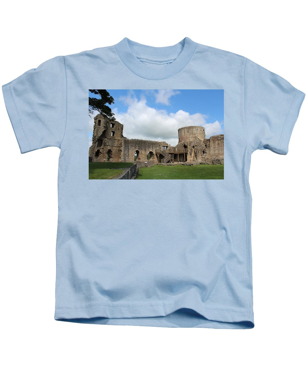 Castle Kids T-Shirt featuring the photograph Castle Ruins by JLowPhotos