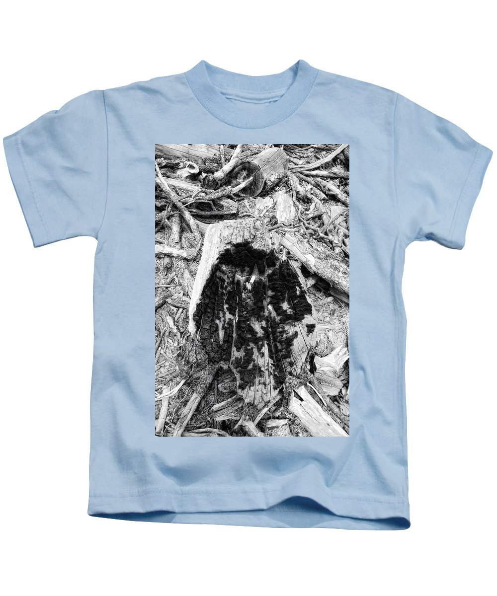 Woo Kids T-Shirt featuring the photograph Catastrophe by Donna Blackhall