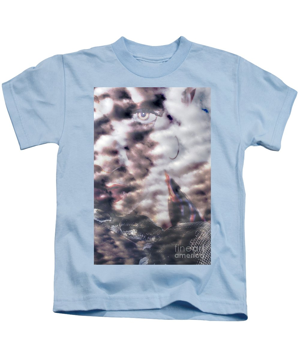 Clay Kids T-Shirt featuring the photograph Celestial Visions by Clayton Bruster
