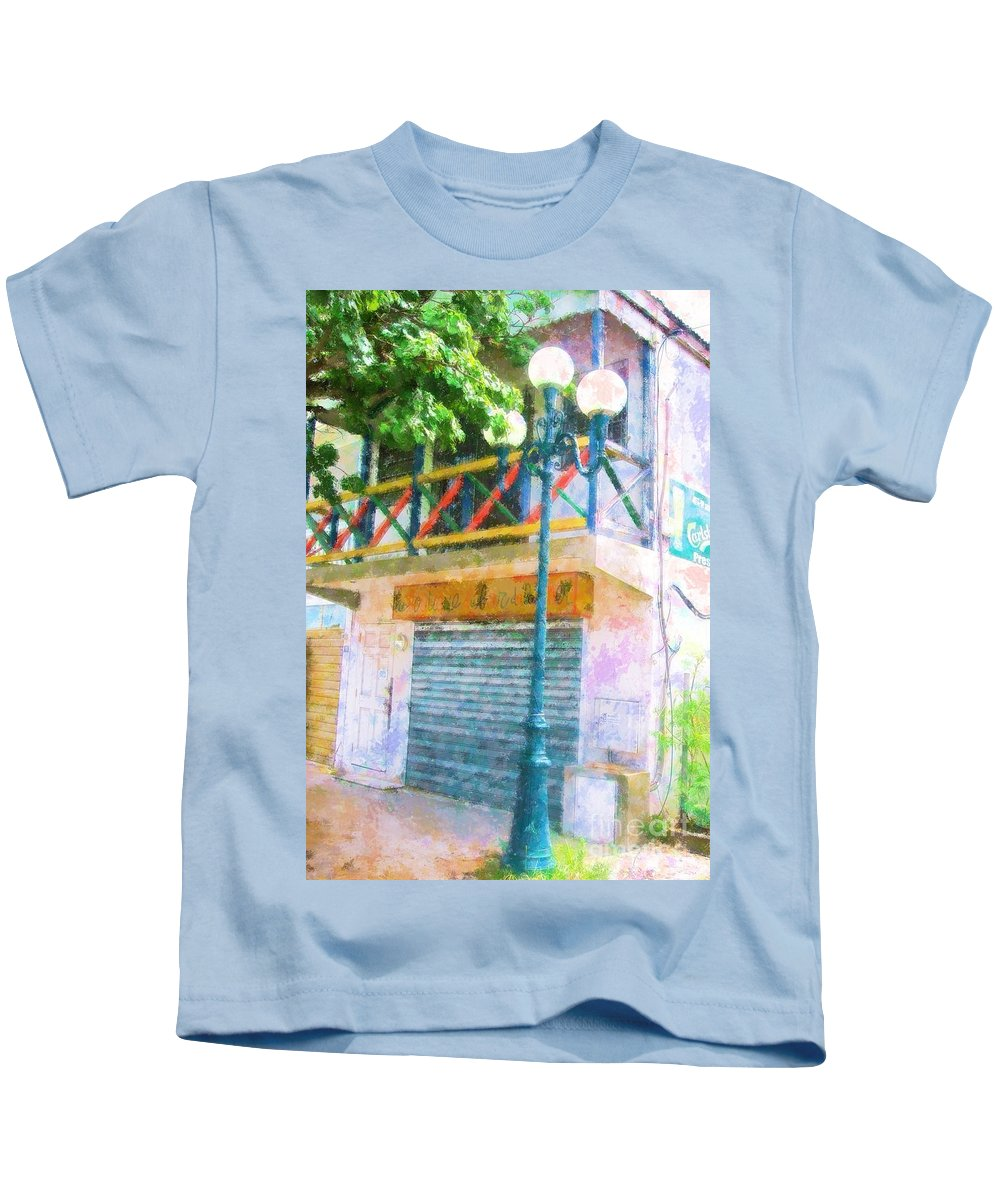 St. Martin Kids T-Shirt featuring the photograph Cest la vie by Debbi Granruth