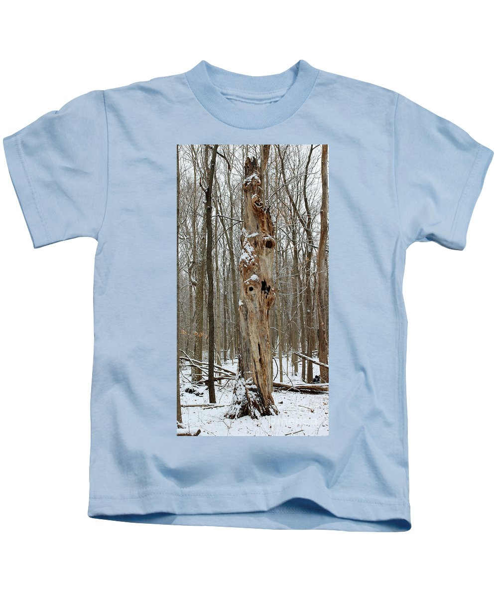Tree Kids T-Shirt featuring the photograph Character by Steve Gass