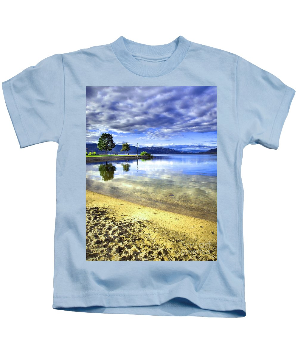 Penticton Kids T-Shirt featuring the photograph Clear Waters by Tara Turner