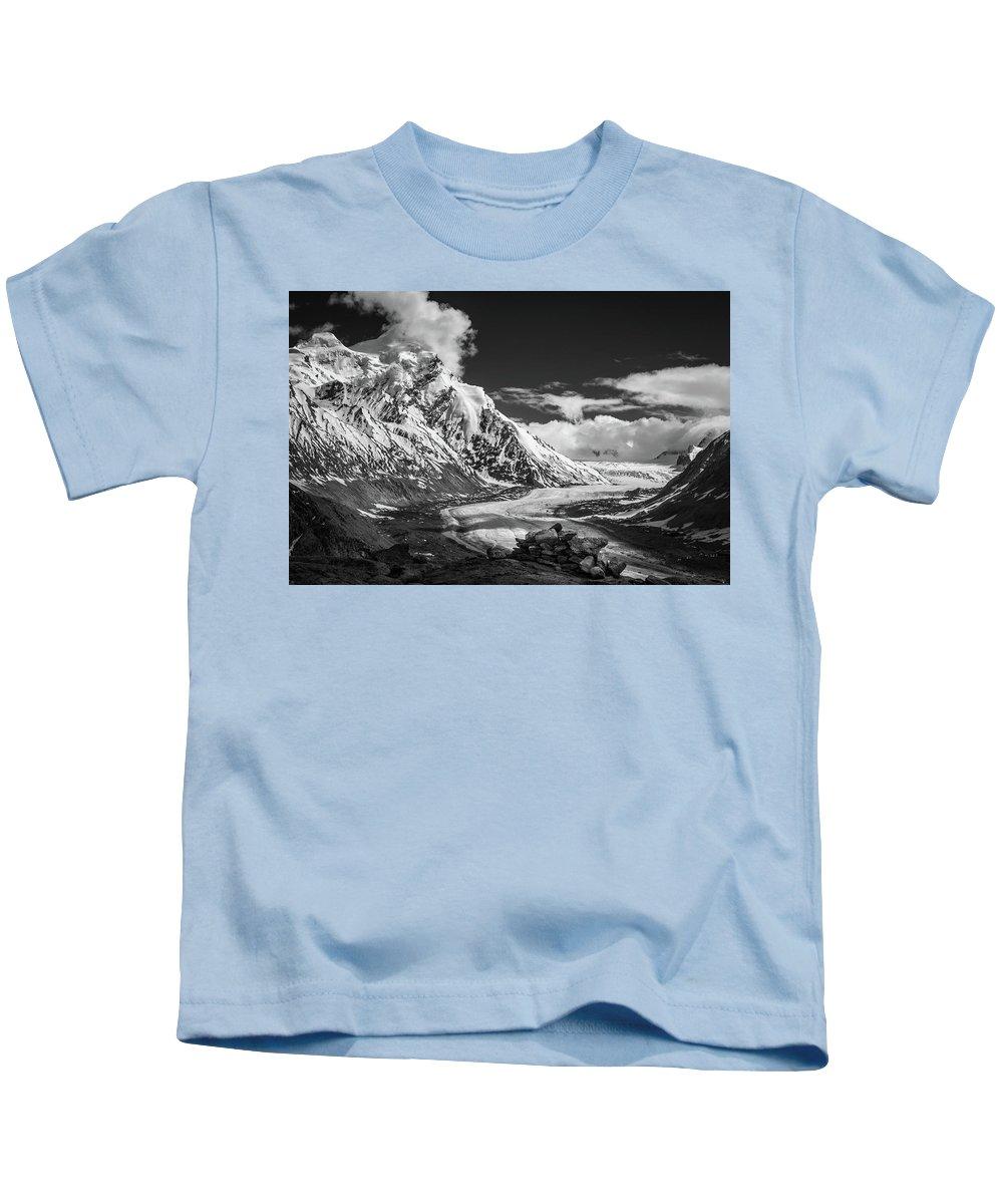Landscape Kids T-Shirt featuring the photograph Cloud Nine by Siddhartha De