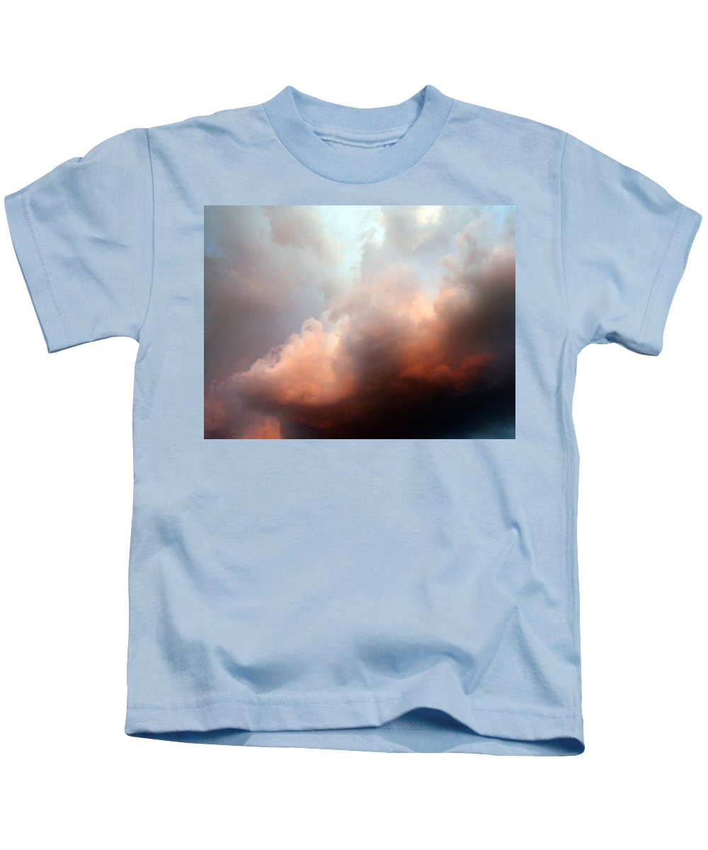 Clouds Kids T-Shirt featuring the photograph Clouds No 6 by Marna Edwards Flavell