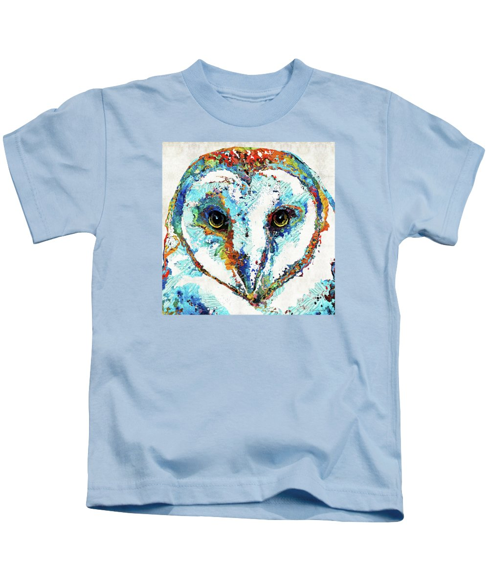Modern Impressionist Kids T-Shirts