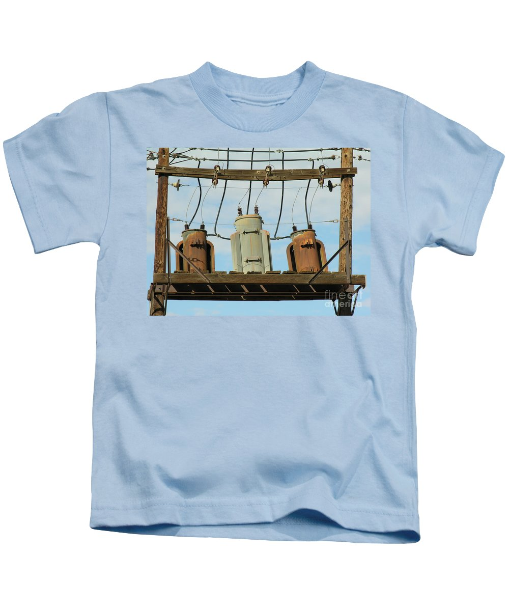 Rusted Kids T-Shirt featuring the photograph Company by Diane Greco-Lesser