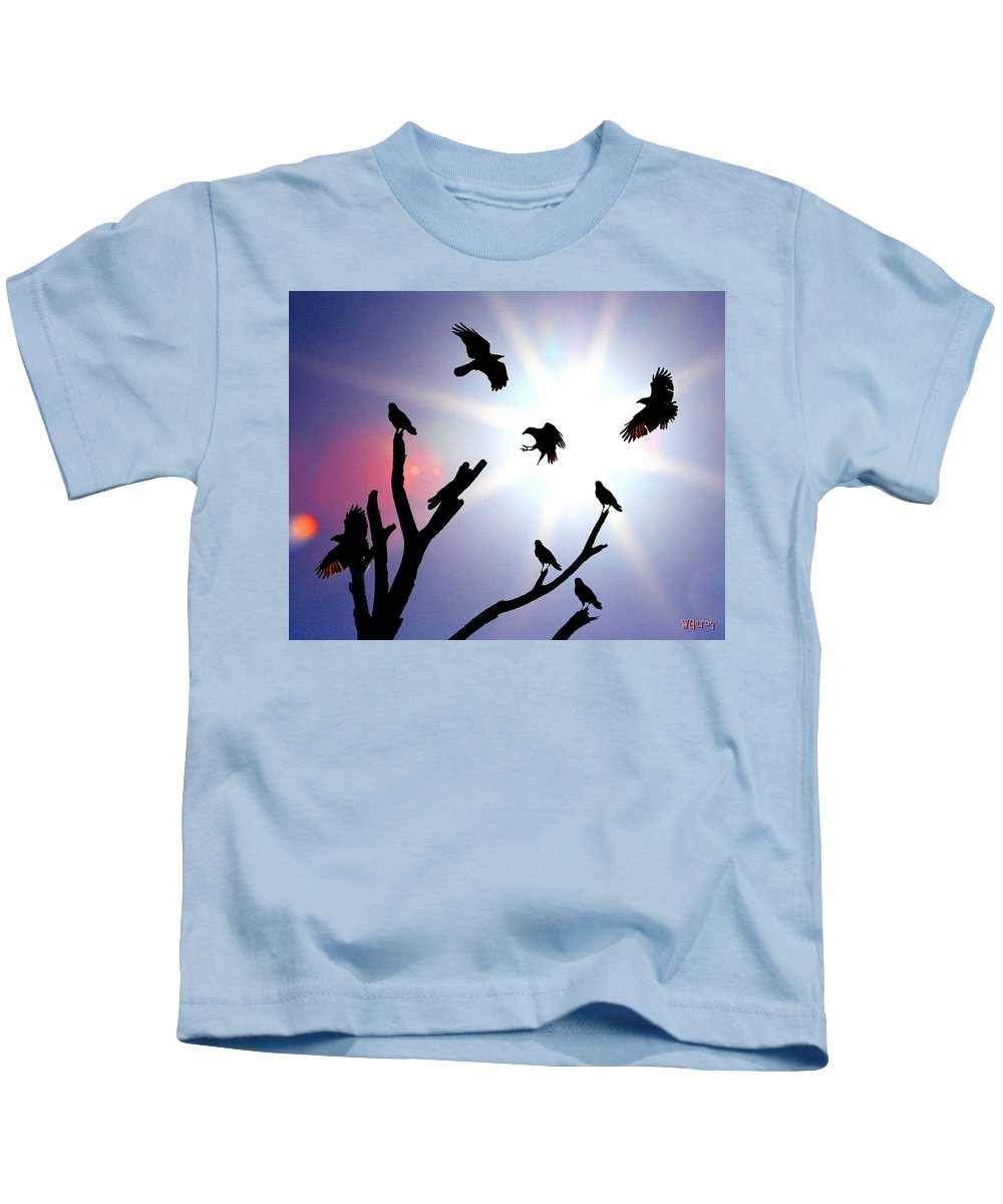 Terns Kids T-Shirt featuring the photograph Crows Nest by W Gilroy