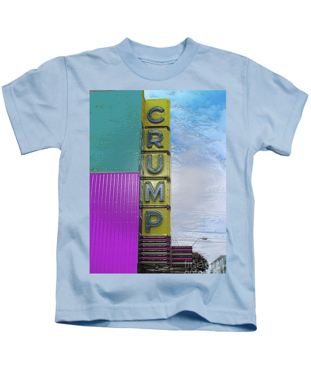 Crump Kids T-Shirt featuring the photograph Crump Water by Jost Houk
