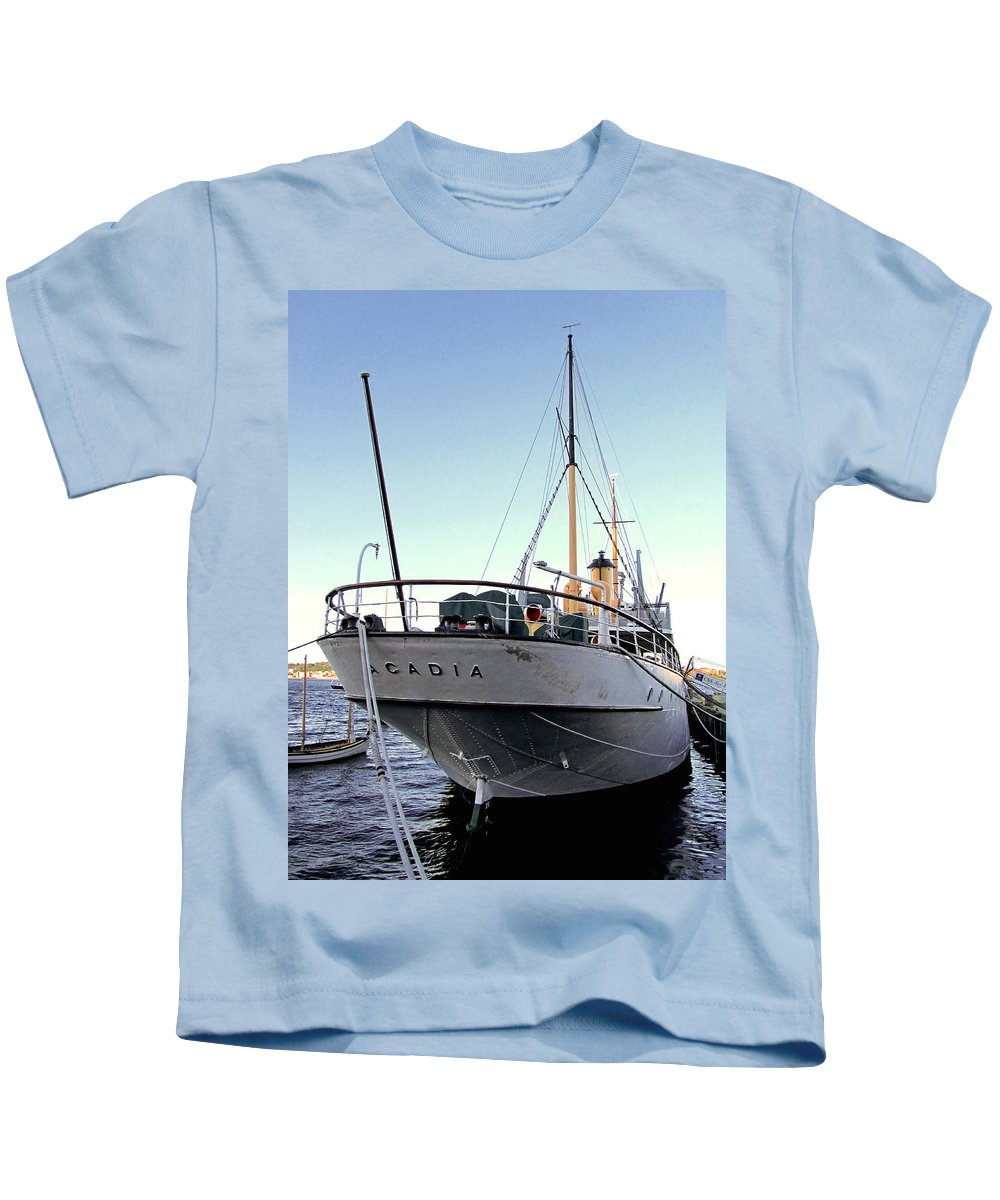 Acadia Kids T-Shirt featuring the photograph Css Acadia 1 by Mark Sellers