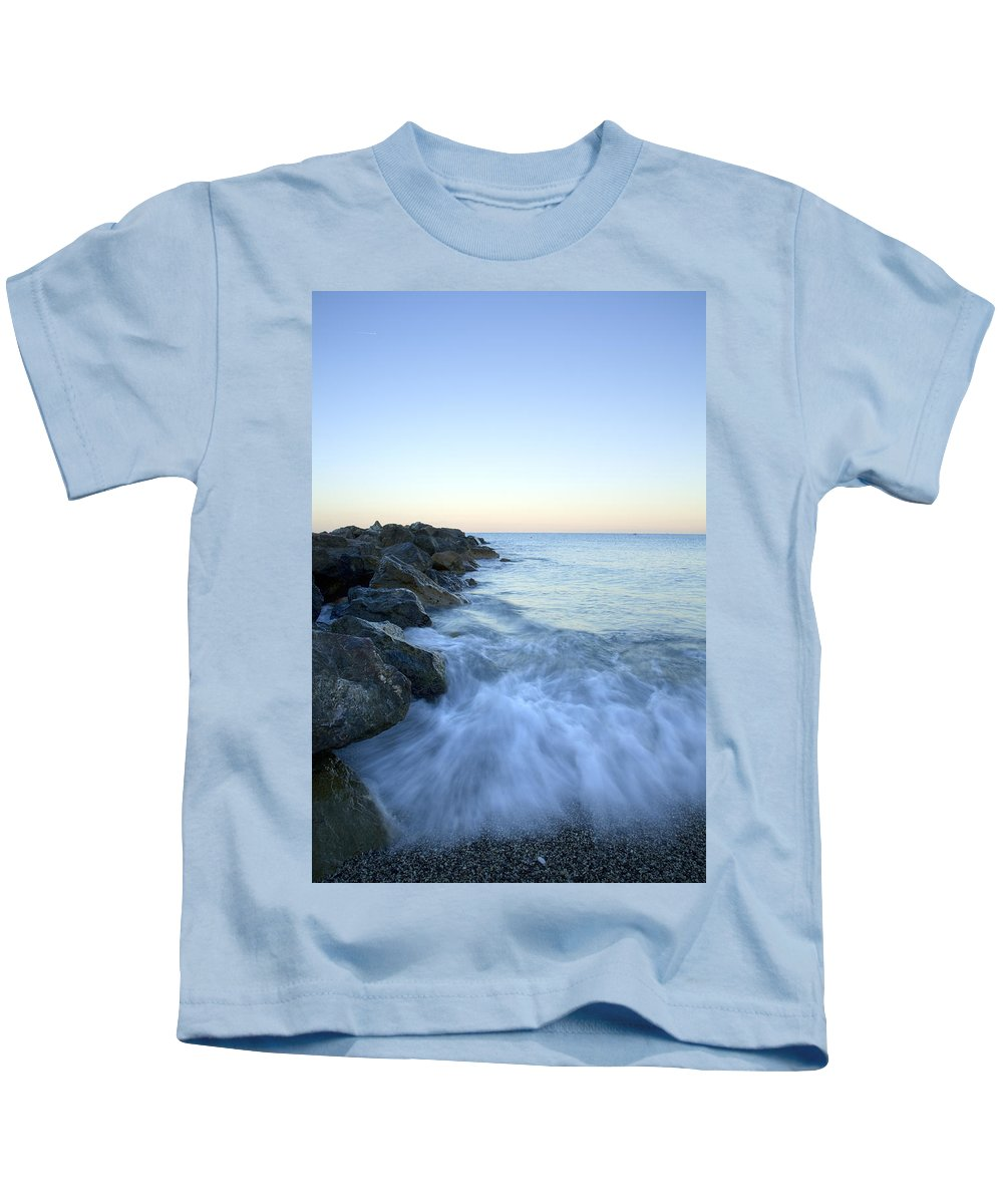 Italy Kids T-Shirt featuring the photograph Dawn Light In Italy by Ian Middleton
