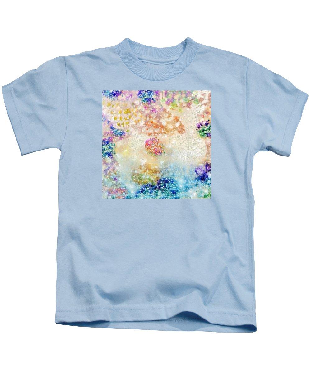 Abstract Kids T-Shirt featuring the photograph Deer Dream by Rita Koivunen