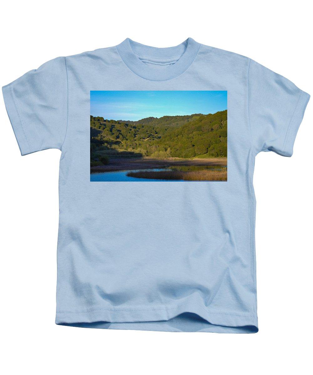 Landscape Kids T-Shirt featuring the photograph Drought by Miranda Strapason