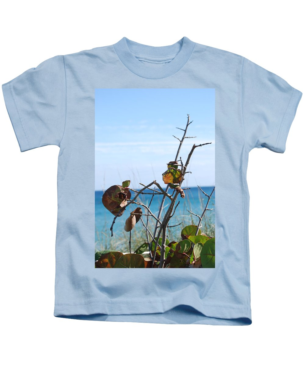 Ocean Kids T-Shirt featuring the photograph Dune Plants by Rob Hans