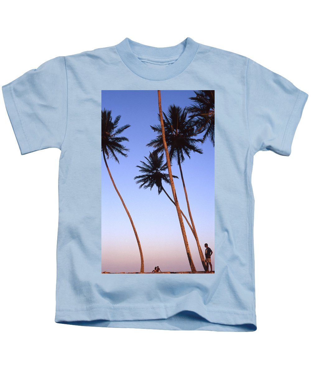 Bahia Kids T-Shirt featuring the photograph Dusk In Morro by Patrick Klauss