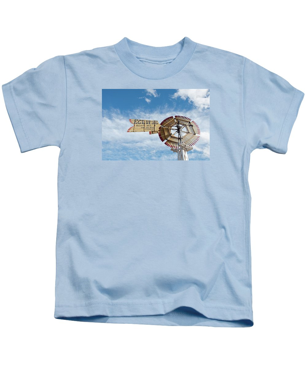 Windmill Kids T-Shirt featuring the photograph Eclipse by David Arment